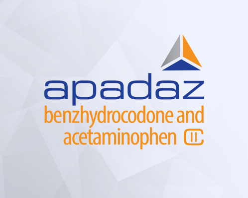 APADAZ (benzhydrocodone and acetaminophen tablets)